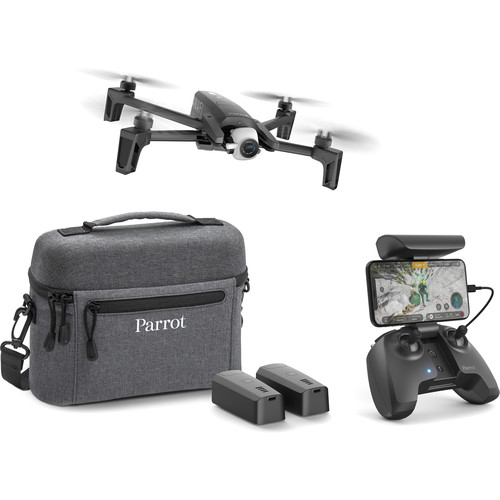 Parrot ANAFI EXTENDED 4K HDR Drone - 3 Smart Batterie con Borsa a Tracolla
